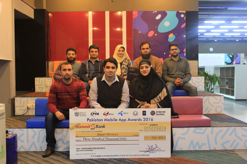 BlueEast's Smart devices wins the National Pakistan App Award