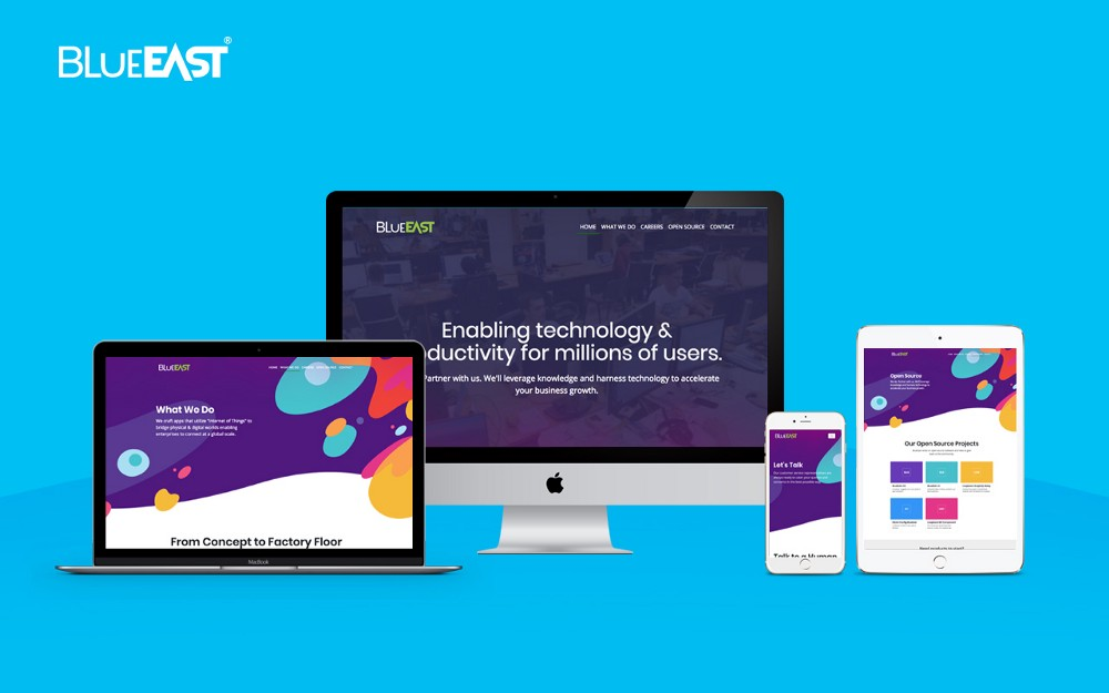 BlueEast Launches its Digital Face for the Cyber Space