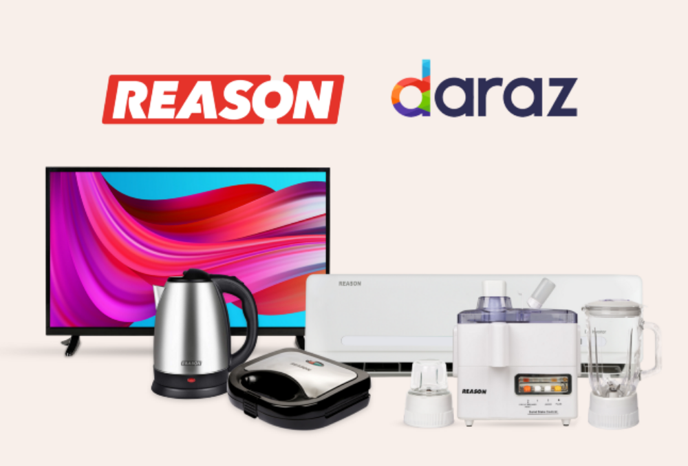 Reason Electronics; Powered by BlueEast is now live on Daraz!